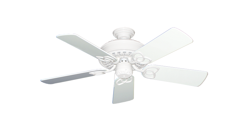 """Picture of Renaissance Pure White with 44"""" Pure White Gloss Blades"""