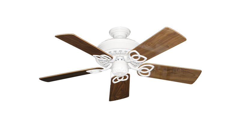"""Picture of Renaissance Pure White with 44"""" Walnut Gloss Blades"""