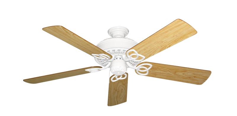 """Picture of Renaissance Pure White with 52"""" Maple Blades"""