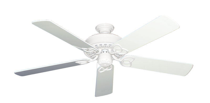 """Picture of Renaissance Pure White with 56"""" Pure White Gloss Blades"""