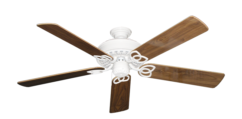 """Picture of Renaissance Pure White with 56"""" Walnut Gloss Blades"""
