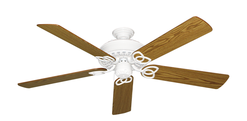 """Picture of Renaissance Pure White with 56"""" Oak Blades"""