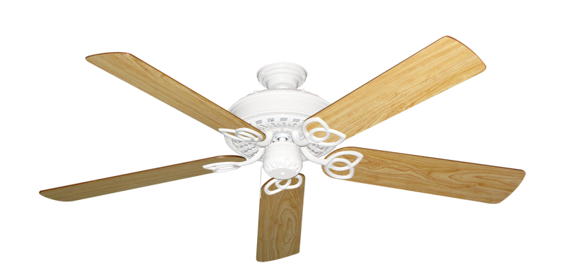 """Picture of Renaissance Pure White with 56"""" Maple Blades"""