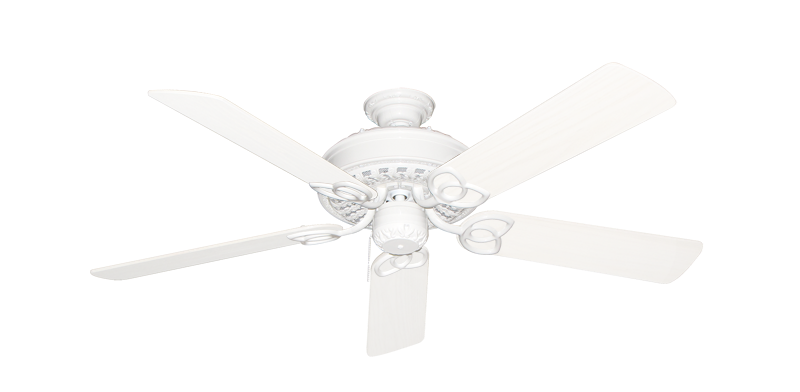 """Picture of Renaissance Pure White with 52"""" Outdoor Pure White Blades"""