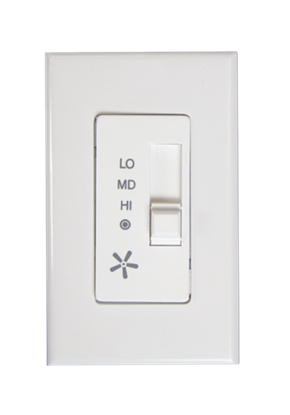 white controller switch with 3 levels
