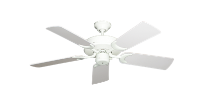 """Picture of Patio Fan Pure White with 44"""" Pure White Blades"""