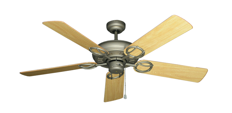 "Picture of Trinidad Antique Bronze with 52"" Honey Oak Gloss Blades"