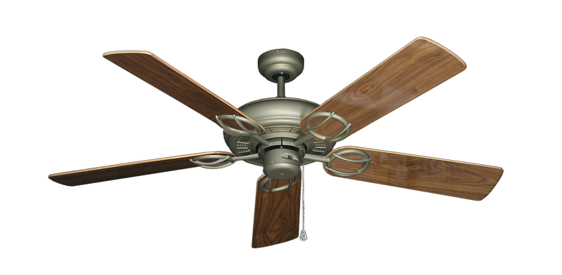 "Picture of Trinidad Antique Bronze with 52"" Walnut Gloss Blades"