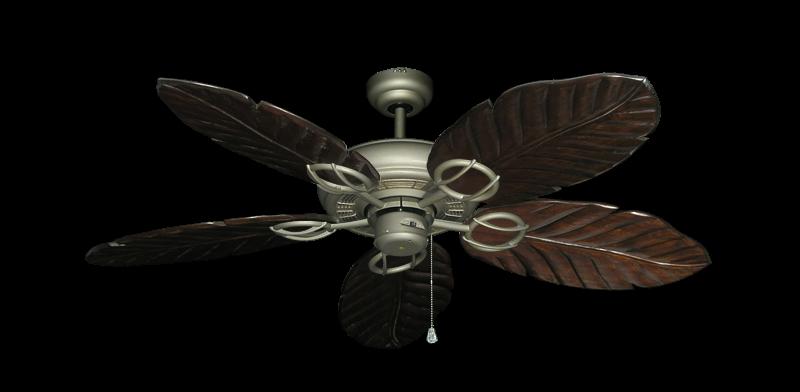 "Picture of Trinidad Antique Bronze with 52"" Series 125 Arbor Dark Walnut Blades"