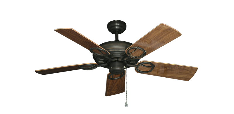 "Picture of Trinidad Oil Rubbed Bronze with 44"" Walnut Gloss Blades"