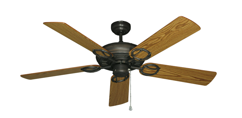 """Picture of Trinidad Oil Rubbed Bronze with 52"""" Oak Blades"""