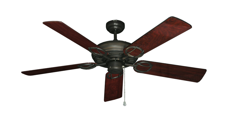 "Picture of Trinidad Oil Rubbed Bronze with 52"" Cherrywood Gloss Blades"