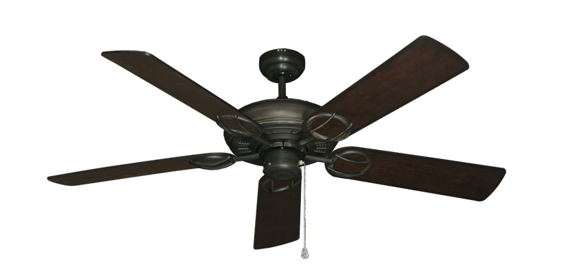 """Picture of Trinidad Oil Rubbed Bronze with 52"""" Distressed Walnut Blades"""