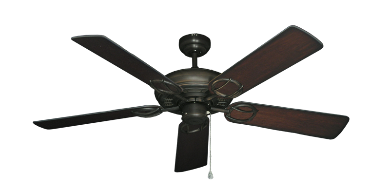 "Picture of Trinidad Oil Rubbed Bronze with 52"" Distressed Cherry Blades"