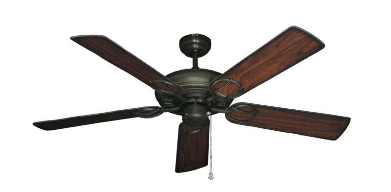 """Picture of Trinidad Oil Rubbed Bronze with 52"""" Burnt Cherry Blades"""