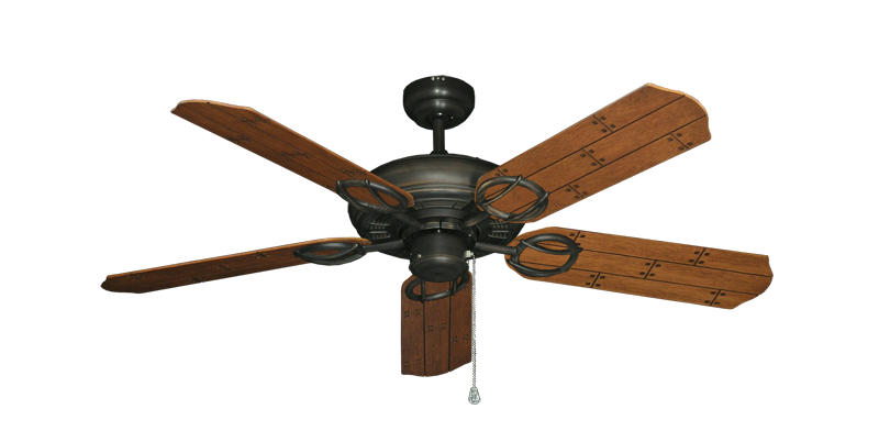 """Picture of Trinidad Oil Rubbed Bronze with 52"""" Cherry Plank Blades"""