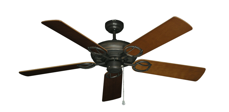 "Picture of Trinidad Oil Rubbed Bronze with 52"" Natural Cherry Blades"