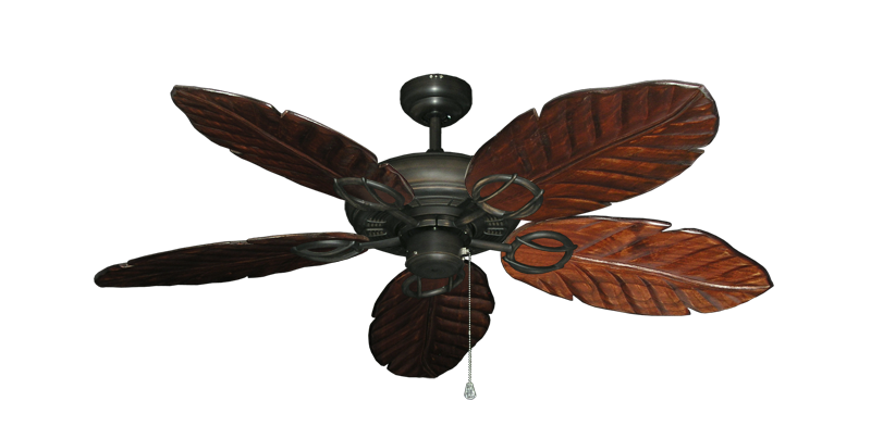 "Picture of Trinidad Oil Rubbed Bronze with 52"" Series 125 Arbor Cherrywood Blades"