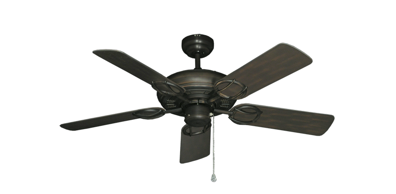 """Picture of Trinidad Oil Rubbed Bronze with 44"""" Outdoor Oil Rubbed Bronze Blades"""