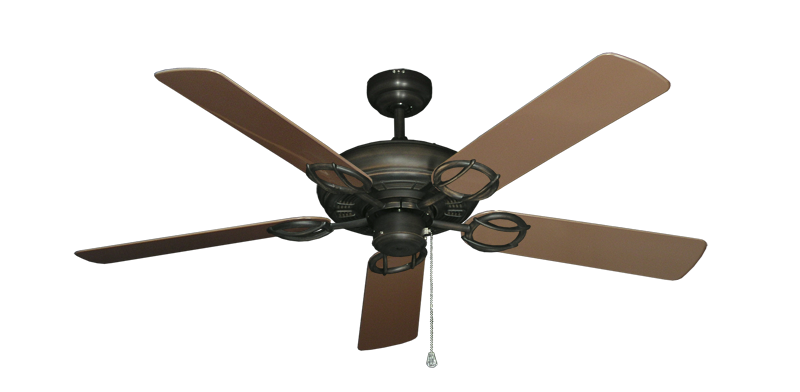 "Picture of Trinidad Oil Rubbed Bronze with 52"" Outdoor Brown Blades"