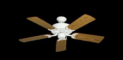 "Picture of Bermuda Breeze V Pure White with 44"" Oak Blades"