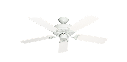 """Picture of Bermuda Breeze V Pure White with 44"""" Outdoor Pure White Blades"""