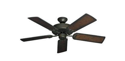 "Picture of Bermuda Breeze V Oil Rubbed Bronze with 44"" Distressed Hickory Blades"