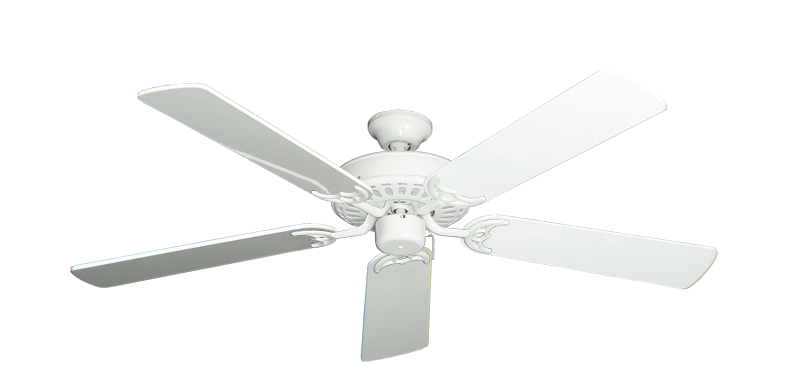 "Picture of Bimini Breeze V Pure White with 52"" Pure White Gloss Blades"