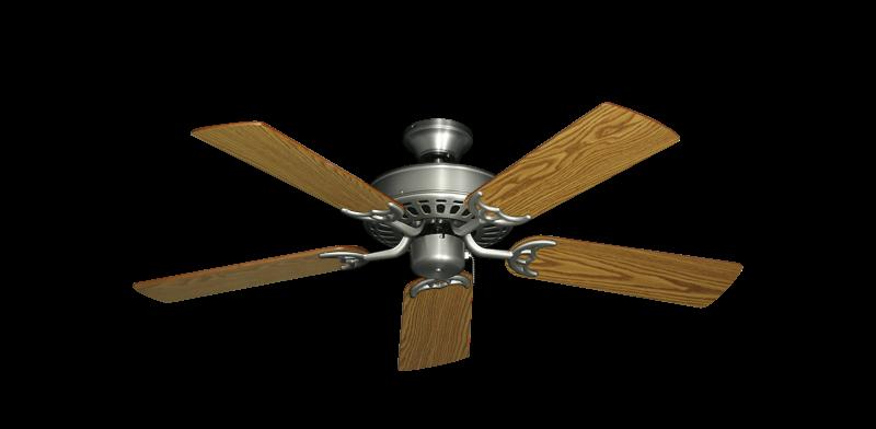"Picture of Bimini Breeze V Satin Steel with 44"" Oak Blades"