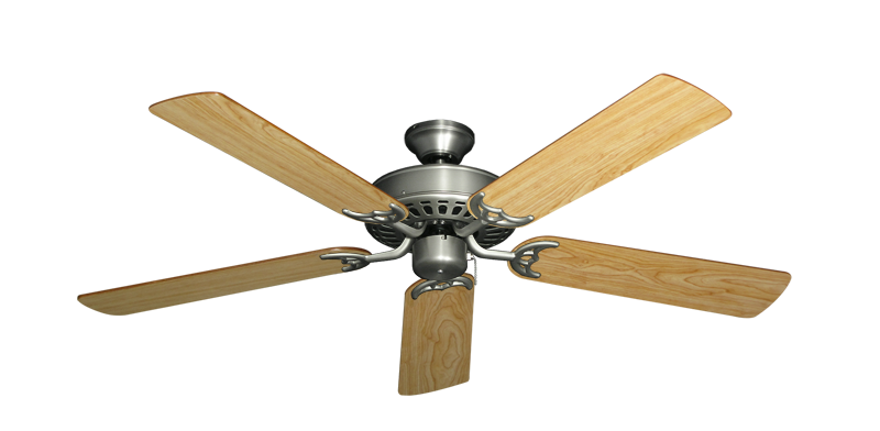 """Picture of Bimini Breeze V Satin Steel with 52"""" Maple Blades"""