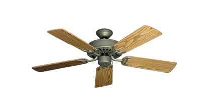 "Picture of Bimini Breeze V Antique Bronze with 44"" Oak Gloss Blades"