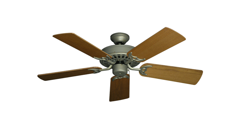 "Picture of Bimini Breeze V Antique Bronze with 44"" Light Oak Blades"