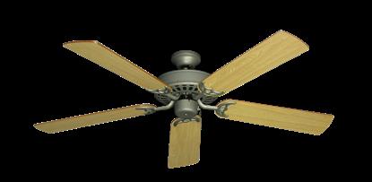 "Picture of Bimini Breeze V Antique Bronze with 52"" Honey Oak Blades"