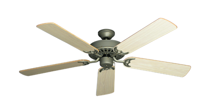 """Picture of Bimini Breeze V Antique Bronze with 52"""" Bleached Oak Gloss Blades"""