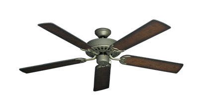 """Picture of Bimini Breeze V Antique Bronze with 52"""" Distressed Hickory Blades"""