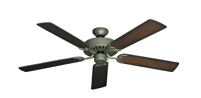 "Picture of Bimini Breeze V Antique Bronze with 52"" Distressed Hickory Blades"