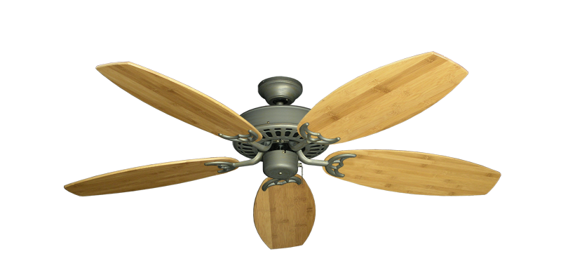 """Picture of Bimini Breeze V Antique Bronze with 52"""" Oar Bamboo Brown Blades"""
