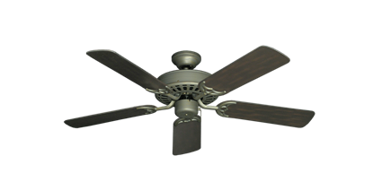 "Bimini Breeze V Antique Bronze with 44"" Outdoor Oil Rubbed Bronze Blades"