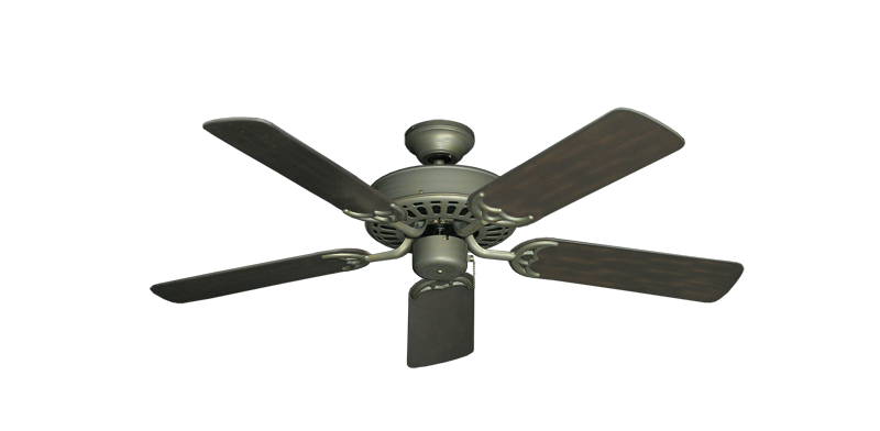 """Picture of Bimini Breeze V Antique Bronze with 44"""" Outdoor Oil Rubbed Bronze Blades"""