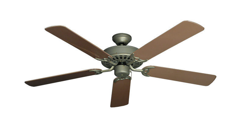 "Picture of Bimini Breeze V Antique Bronze with 52"" Outdoor Brown Blades"