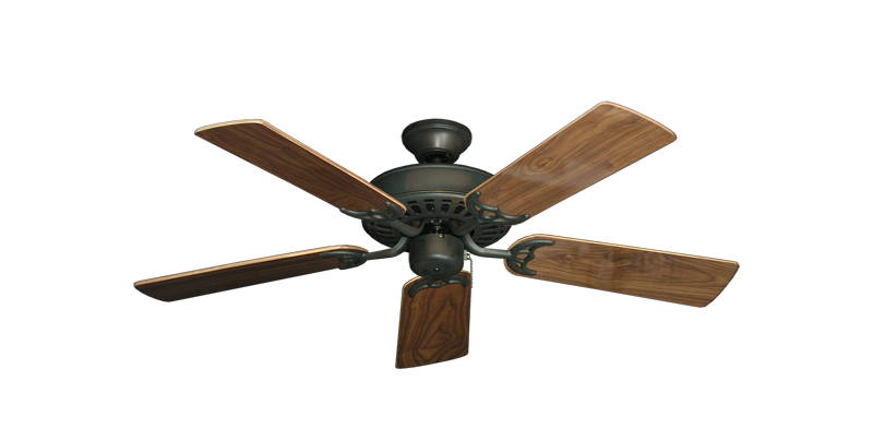 "Picture of Bimini Breeze V Oil Rubbed Bronze with 44"" Walnut Gloss Blades"