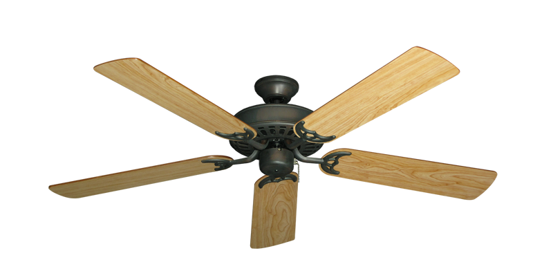 "Picture of Bimini Breeze V Oil Rubbed Bronze with 52"" Maple Blades"