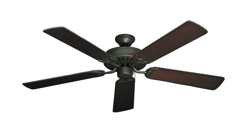 """Picture of Bimini Breeze V Oil Rubbed Bronze with 52"""" Distressed Cherry Blades"""