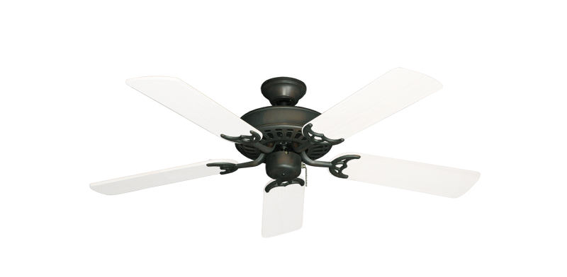 "Picture of Bimini Breeze V Oil Rubbed Bronze with 44"" Outdoor Pure White Blades"