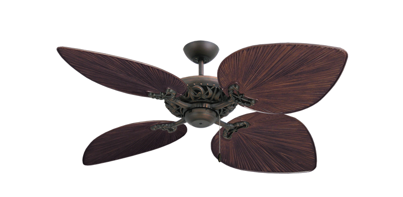 "Picture of Corsica Oil Rubbed Bronze with 53"" Bombay Oil Rubbed Bronze Blades"