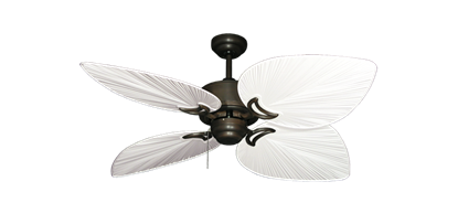 "Picture of Bombay Oil Rubbed Bronze with 50"" Bombay Pure White Blades"