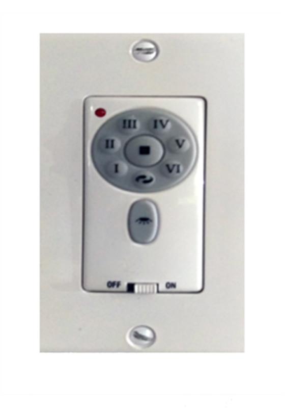 Picture of Titan - DC-6-LA Only In-Wall Remote Control