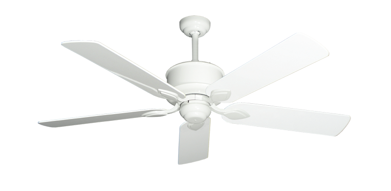 "Picture of Hercules Pure White with 52"" Pure White Gloss Blades"