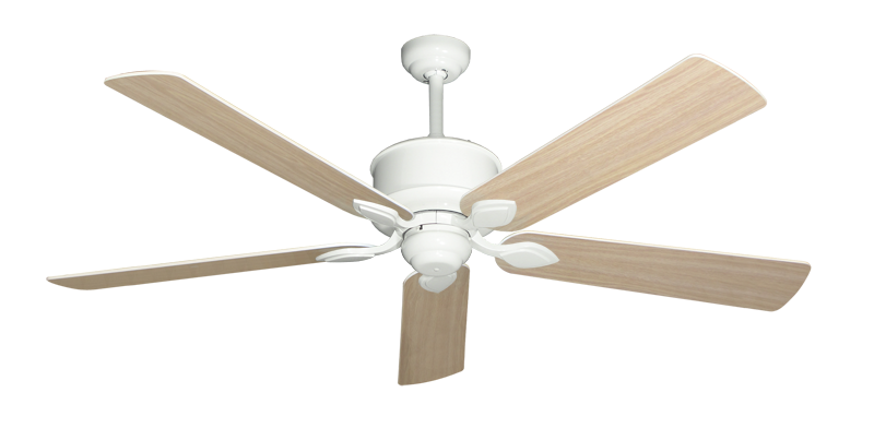"""Picture of Hercules Pure White with 60"""" Bleached Oak Blades"""