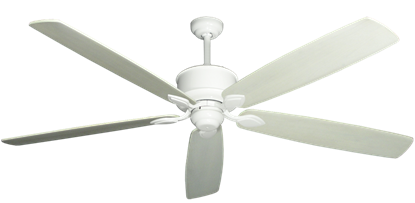 """Picture of Hercules Pure White with 72"""" Series 750 Arbor Whitewash Blades"""